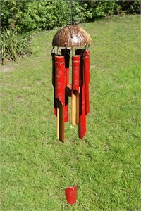 Merah Bamboo Wind Chime