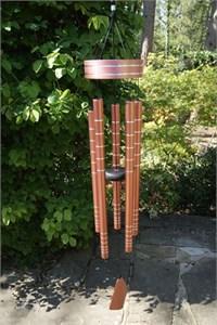 Chorus 40 inch wind chime, rose gold