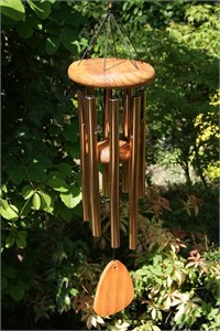 Festival 24 inch Wind Chime, bronze (8 chimes)