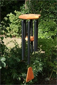 Arias Elite 30 inch Black Wind Chime
