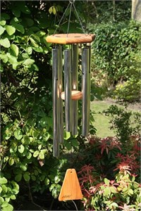 Arias 27 inch Silver Wind Chime