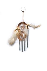 Dream Catcher with Chimes, tan