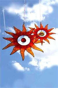 Double Sunburst Suncatchers