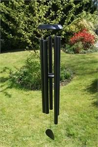 Concerto 60 inch wind chime, satin black