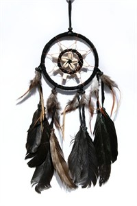 Hopi Dream Catcher, black