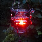 Red Moroccan Tea Light Lantern