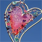 Heart Wind Chime