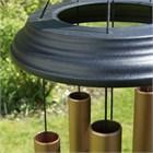 Concerto 40 inch wind chime, satin bronze