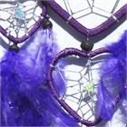 Multi-Heart Dream Catcher, Purple
