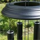Concerto 40 inch wind chime, satin black