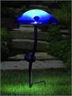 Blue Solar Mushroom