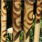 Curly Tiger Cub Bamboo Wind Chime