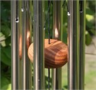 Arias 18 inch Silver Wind Chime