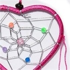 Little Heart Dream Catcher, pink