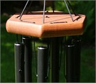 Nature's Melody Wind Chime, 24 inch black