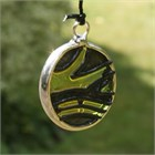 Green and Black Butterfly Wind Chime