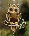 Brown Owl Wind Chime