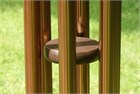 Nature's Melody Wind Chime, 36 inch bronze