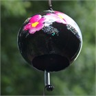Black Ginka Wind Chime
