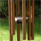 Nature's Melody Wind Chime, 18 inch bronze
