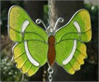 British Butterfly Wind Chime:  Green Hairstreak