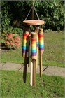 Rainbow Thread Bamboo Wind Chime