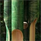 Batu Bamboo Wind Chime, large green