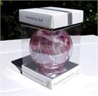 Flamingo Feathers Glass Ball, 10 cm