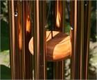 Festival 24 inch Wind Chime, bronze