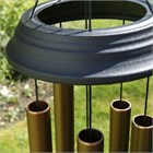 Concerto 36 inch wind chime, satin bronze