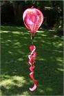 Standard Hot Air Balloon Spinner, Pink Patchwork