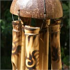 Sunburst Bamboo Wind Chime, medium
