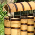 Tiger Bamboo Wind Chime