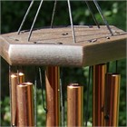 Nature's Melody Wind Chime, 24 inch bronze