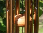 Festival 18 inch Wind Chime, bronze