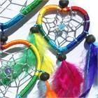 Multi-Heart Dream Catcher, Rainbow