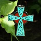 Woodstock Celtic Cross Wind Chime