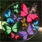 Circle of Butterflies Wind Chime