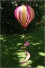 Large Hot Air Balloon Spinner, Fruit Salad