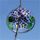 Purple Hortensia Wind Chime