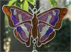 British Butterfly Wind Chime:  Purple Emperor