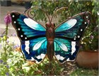 Large Blue Butterfly Wind Chime