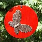 Woodstock Habitats Wind Chime:  Butterfly
