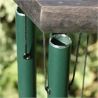 Nature's Melody Wind Chime, 24 inch forest green