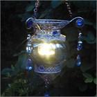 Blue Moroccan Tea Light Lantern